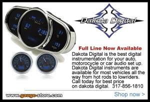 Dakota Digital Hot rod gauges
